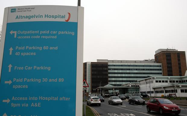 Altnagelvin Hospital (Paul Faith/PA)
