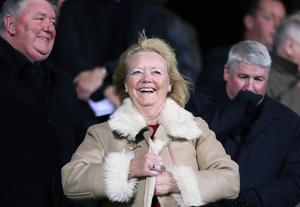 Hearts owner Ann Budge will lead a task force looking at a potential top-flight expansion (Ann Budge/PA)