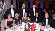 The Saville Audio Visual team at the Belfast Telegraph Business Awards