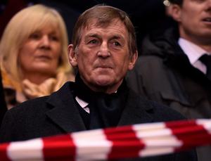 Former Liverpool player and manager Kenny Dalglish ahead of the UEFA Europa League round of 16, first leg football match between Liverpool and Manchester United at Anfield in Liverpool, northwest England on March 10, 2016. / AFP PHOTO / PAUL ELLISPAUL ELLIS/AFP/Getty Images
