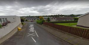 The incident happened in Judilee Park, Cookstown. Pic Google Maps