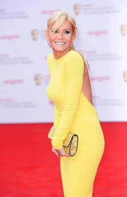 Michelle Collins arriving for the 2013 Arqiva British Academy Television Awards at the Royal Festival Hall, London. PRESS ASSOCIATION Photo. Picture date: Sunday May 12, 2013. See PA story SHOWBIZ Bafta. Photo credit should read: Dominic Lipinski/PA Wire