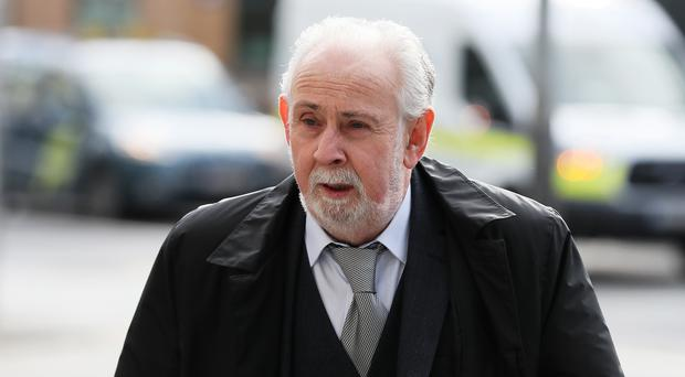 The trial is considering whether John Downey is liable for the bombing (Brian Lawless/PA)