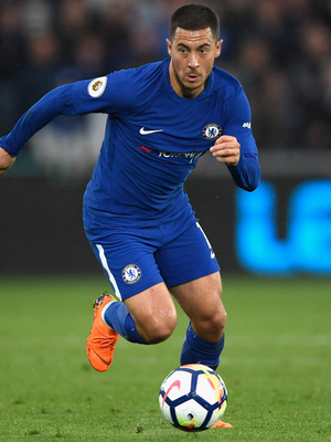 Bright spark: Eden Hazard can pull the strings for Chelsea