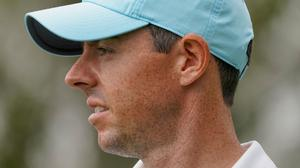 Rory McIlroy is in contention after round one at the US Open.