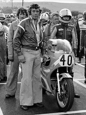 Real legend: Hector Neill with Joey Dunlop at the 1978 Ulster Grand Prix