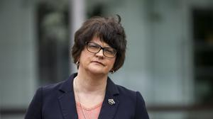 First Minister Arlene Foster (PA)