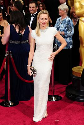 Naomi Watts arriving at the 86th Academy Awards held at the Dolby Theatre in Hollywood, Los Angeles, CA, USA. PRESS ASSOCIATION Photo. Picture date: Sunday March 2, 2014. See PA story SHOWBIZ Oscars. Photo credit should read: Ian West/PA Wire