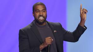 Staff for the Wisconsin Elections Commission are recommending that rapper Kanye West be kept off the battleground state's presidential ballot (Michael Wyke/AP)