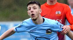 Key role: Eamon Scannell's free-kick led to an own goal