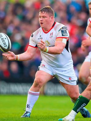 Fully focused: Ulster ace Ross Kane is looking to the positives ahead of the crunch PRO14 semi-final clash
