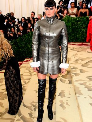 Shailene Woodley attending the Metropolitan Museum of Art Costume Institute Benefit Gala 2018 in New York, USA. PRESS ASSOCIATION Photo. Picture date: Monday May 7, 2018. See PA story SHOWBIZ MET Gala. Photo credit should read: Ian West/PA Wire