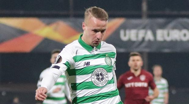 Celtic's Leigh Griffiths made his first start since August on Thursday night