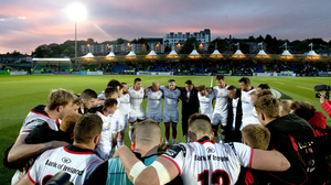 Home truths: captain Rory Best addresses the Ulster squad after their Guinness PRO14 semi-final loss to Glasgow