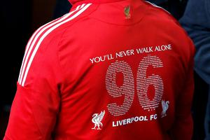 The congregation gathers before the last memorial service to be held at Anfield, Liverpool, to mark 27 years to the day since the tragedy claimed 96 lives. PRESS ASSOCIATION Photo. Picture date: Friday April 15, 2016. The 96 Liverpool fans died in the crush on the Leppings Lane terraces at Sheffield Wednesday's Hillsborough stadium after going to see their team play Nottingham Forest in an FA Cup semi-final on April 15, 1989. See PA story MEMORIAL Hillsborough. Photo credit should read: Peter Byrne/PA Wire