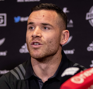 Talking up: Ryan Crotty has a lot of respect for Ireland