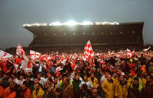 Glory days: Ulster's famous European win reminds us of the time when fans enjoyed sport