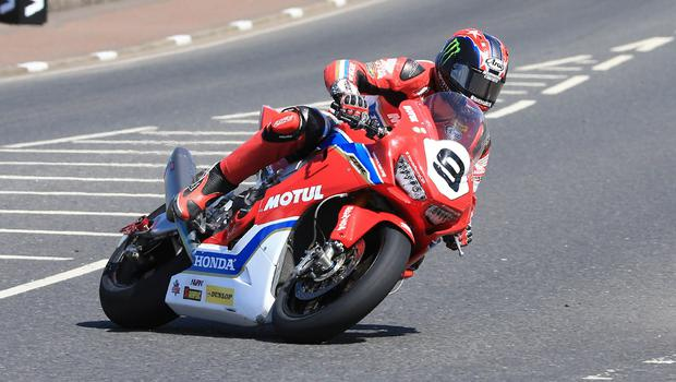 Pacemaker Belfast 12-5-18 Vauxhall International North West 200 -  superbike practice session Ian Hutchinson (Honda Racing Honda) during today's  superbike practice session at the Vauxhall International North West 200 in Portrush.  Photo by David Maginnis/Pacemaker Press