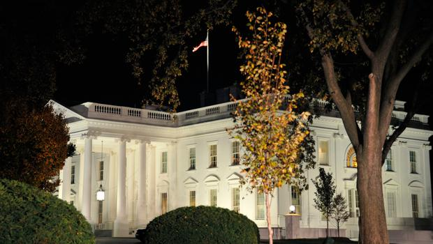 The White House is seen during the US presidential election night on November 8, 2016 in Washington,DC.  Millions of Americans turned out Tuesday to decide whether to send Hillary Clinton to the White House as their first woman president or to put their trust in maverick populist Donald Trump. / AFP PHOTO / YURI GRIPASYURI GRIPAS/AFP/Getty Images