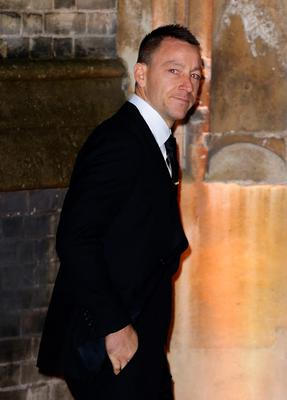 John Terry arrives at the wedding of Christine Bleakley and Frank Lampard at St Paul's Church in Knightsbridge, London. PRESS ASSOCIATION Photo. Picture date: Sunday December 20, 2015. See PA story SHOWBIZ Lampard. Photo credit should read: Gareth Fuller/PA Wire