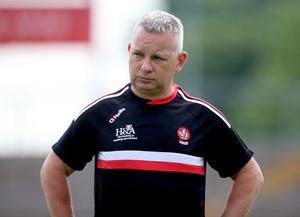 Derry manager Mickey Donnelly Mandatory Credit ©INPHO/Tommy Dickson