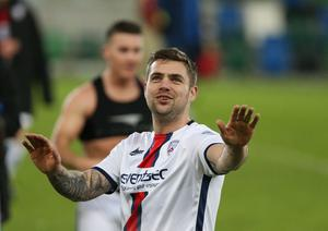 James McLaughlin has scored 12 goals this season, 56 in all for Coleraine.
