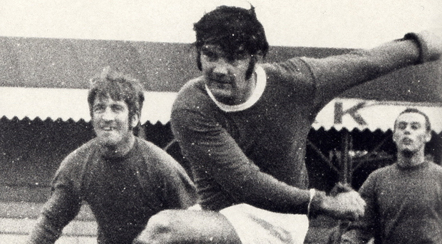 Blues hero: Phil Scott, a key player for Linfield in Europe, scored 220 goals for the Blues