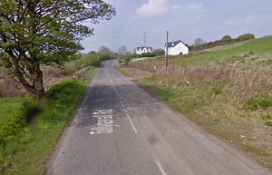 The fire took place on the Tullynavall Road, Cullyhanna. Credit: Google