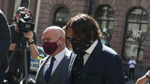 Actor Johnny Depp arriving at the High Court in London (Steve Parsons/PA)