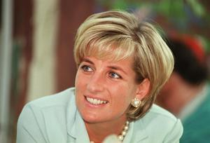 PA file photo dated 27/05/1997 of Princess Diana. PRESS ASSOCIATION photo. Issue date: Tuesday March 6, 2007. Baroness Butler-Sloss confirmed today that the inquests into the deaths of Dodi Fayed and Diana, Princess of Wales, have been postponed until October 1.