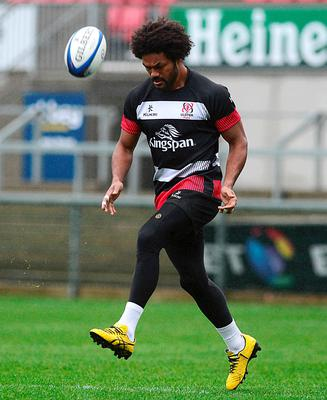 Short stay: Australian international Henry Speight will play his last game for Ulster tomorrow