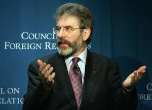 2005: Addressing the Council on Foreign Relations in New York
