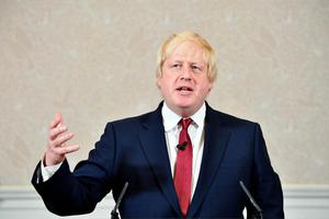 Brexit campaigner and former London mayor Boris Johnson addresses a press conference in central London on June 30, 2016. Pic AFP PHOTO / LEON NEALLEON NEAL/AFP/Getty Images.