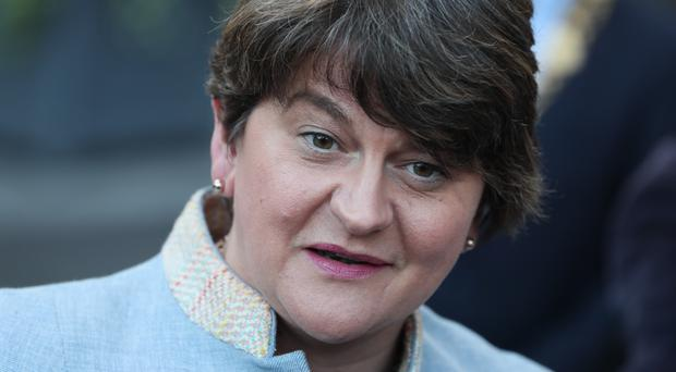 DUP leader Arlene Foster (Brian Lawless/PA)