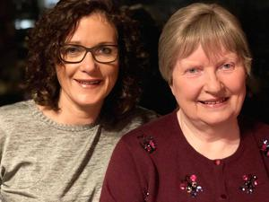 Family support: Pat Conroy and daughter Kate Connolly