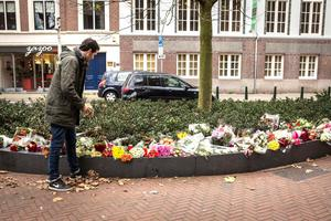 Flowers are laid for the victims of the Paris attacks outside the French embassy in The Hague, on November 14, 2015, a day after a string of attacks on the French capital Paris. France was in a nationwide state of emergency Saturday after a night of horror in Paris when gunmen sprayed restaurants with bullets, massacred scores of concert-goers and launched suicide attacks near the national stadium, killing at least 120 people. AFP PHOTO/ ANP / ALEXANDER SCHIPPERS      =NETHERLANDS OUT=ALEXANDER SCHIPPERS/AFP/Getty Images