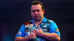 Brendan Dolan exited the World Darts Championship at the hands of Gary Anderson.