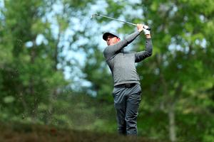 NORTON, MA - SEPTEMBER 05:  Rory McIlroy of Northern Ireland plays a shot on the 17th hole during the final round of the Deutsche Bank Championship at TPC Boston on September 5, 2016 in Norton, Massachusetts.  (Photo by David Cannon/Getty Images)