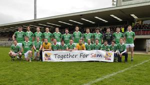 """4th May 2013 """"Together For Sam"""" Fundraising G.A.A. Match between Fermanagh and Mayo at Brewster Park, Enniskillen The Fermanagh Team at Saturday Nights Game."""