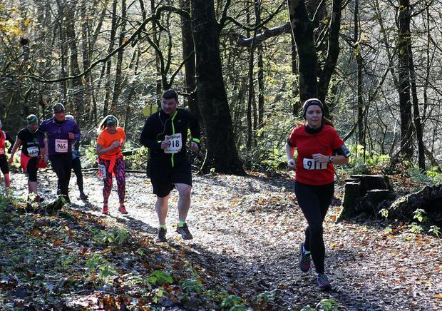 Mandatory Credit - Picture by Freddie Parkinson/Press Eye © Saturday 19th November 2016 Belfast Telegraph Run Forest Run Drum Manor Forest Park, Drum Road, Cookstown BT80 9RT Shauna Gibson	crumlin
