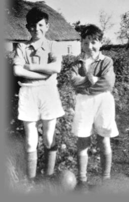 Liam Beckett (right) and his (perhaps too) thoughtful brother Lawrence