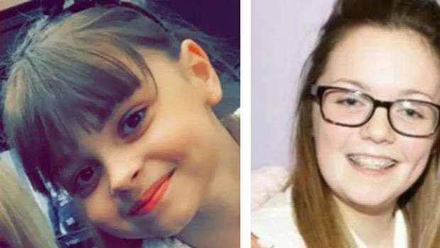 Saffie Roussos (8) and Georgina Callander (18) who died in the Manchester Arena terror attack