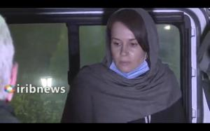 British-Australian academic Kylie Moore-Gilbert had been detained in Iran for more than two years (Iranian State Television via AP)