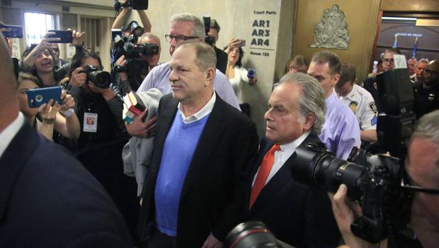 Harvey Weinstein was arraigned on rape and other charges (Bebeto Matthews/AP)