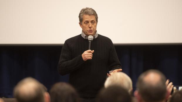 Hugh Grant has been campaigning in London (David Mirzoeff/PA)