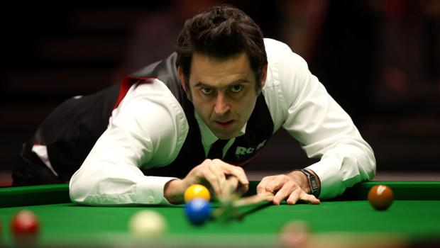 New century: Ronnie O'Sullivan equals Stephen Hendry's record of 775 tons on way to victory over Ricky Walden