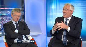 RTÉ Pundit Joe Brolly (left) speaks passionately about the tactics employed by Tyrone and Sean Kavanagh in their All-Ireland quarter final with Monaghan at Croke Park