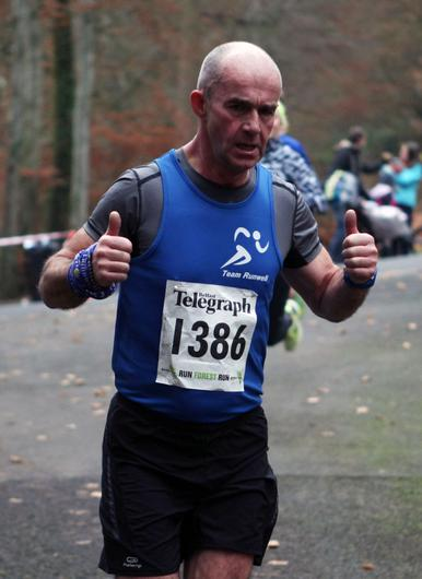 Mandatory Credit - Picture by Freddie Parkinson/Press Eye © Saturday 3rd December 2016 Belfast Telegraph Run Forest Run Loughgall. Loughgall Country Park, 11-14 Main Street, Loughgall, Armagh.  TONY Guy