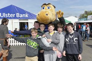 NO FEE  Press Eye - Belfast - Northern Ireland 15th May Second day of the Balmoral Show in partnership with Ulster Bank at Balmoral Park.  Pictured are St Patricks college in Banbridge  Picture by Stephen Hamilton / Press Eye.