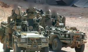 Photo appearing to show British special forces operating near al-Tanf in Syria in June. Image: BBC